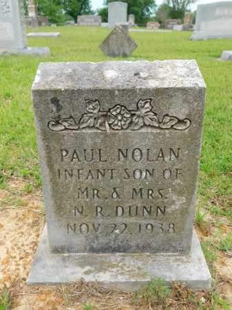 DUNN, PAUL NOLAN - Calhoun County, Arkansas | PAUL NOLAN DUNN - Arkansas Gravestone Photos
