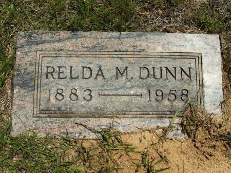 DUNN, RELDA M - Calhoun County, Arkansas | RELDA M DUNN - Arkansas Gravestone Photos