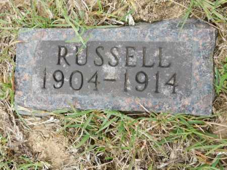 DUNN, RUSSELL - Calhoun County, Arkansas | RUSSELL DUNN - Arkansas Gravestone Photos