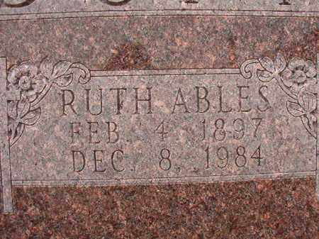 ABLES DUNN, RUTH - Calhoun County, Arkansas | RUTH ABLES DUNN - Arkansas Gravestone Photos