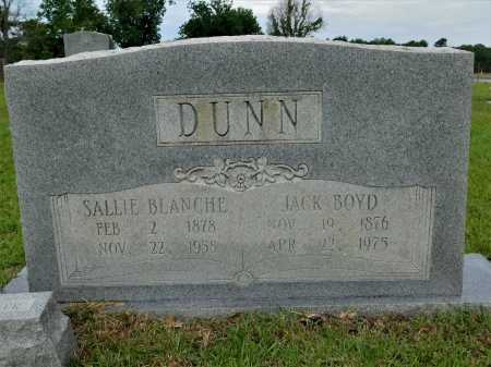 DUNN, SALLIE BLANCHE - Calhoun County, Arkansas | SALLIE BLANCHE DUNN - Arkansas Gravestone Photos