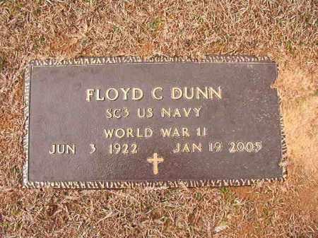 DUNN (VETERAN WWII), FLOYD C - Calhoun County, Arkansas | FLOYD C DUNN (VETERAN WWII) - Arkansas Gravestone Photos