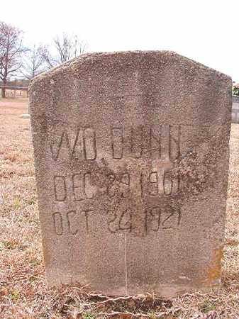 DUNN, W D - Calhoun County, Arkansas | W D DUNN - Arkansas Gravestone Photos