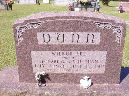 DUNN, WILBUR LEE - Calhoun County, Arkansas | WILBUR LEE DUNN - Arkansas Gravestone Photos