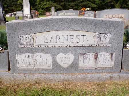 EARNEST, GRADY F - Calhoun County, Arkansas | GRADY F EARNEST - Arkansas Gravestone Photos