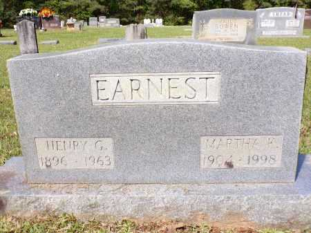 EARNEST, HENRY G - Calhoun County, Arkansas | HENRY G EARNEST - Arkansas Gravestone Photos