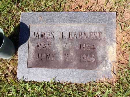 EARNEST, JAMES H - Calhoun County, Arkansas | JAMES H EARNEST - Arkansas Gravestone Photos