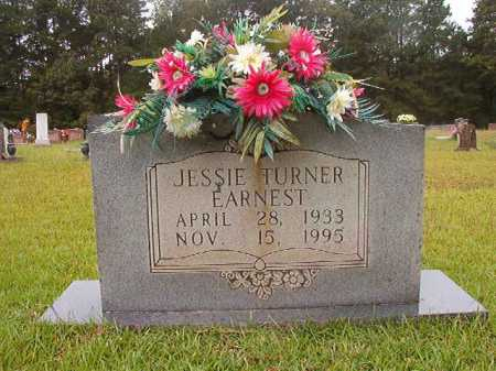 TURNER EARNEST, JESSIE - Calhoun County, Arkansas | JESSIE TURNER EARNEST - Arkansas Gravestone Photos