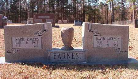 EARNEST, DAVID JACKSON - Calhoun County, Arkansas | DAVID JACKSON EARNEST - Arkansas Gravestone Photos