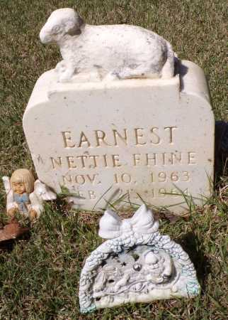 EARNEST, NETTIE FHINE - Calhoun County, Arkansas | NETTIE FHINE EARNEST - Arkansas Gravestone Photos