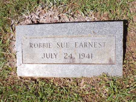 EARNEST, ROBBIE SUE - Calhoun County, Arkansas | ROBBIE SUE EARNEST - Arkansas Gravestone Photos