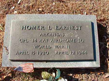 EARNEST (VETERAN WWII), HOMER L - Calhoun County, Arkansas | HOMER L EARNEST (VETERAN WWII) - Arkansas Gravestone Photos