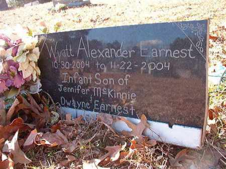 EARNEST, WYATT ALEXANDER - Calhoun County, Arkansas | WYATT ALEXANDER EARNEST - Arkansas Gravestone Photos