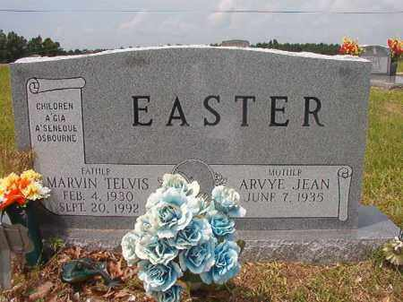 EASTER, MARVIN TELVIS - Calhoun County, Arkansas | MARVIN TELVIS EASTER - Arkansas Gravestone Photos