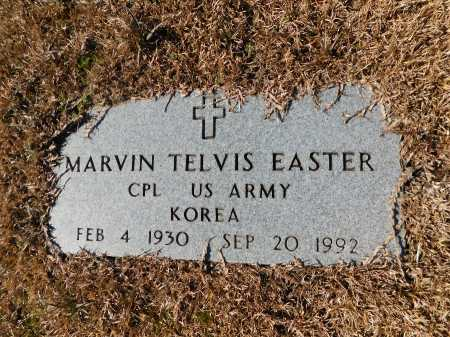 EASTER (VETERAN KOR), MARVIN TELVIS - Calhoun County, Arkansas | MARVIN TELVIS EASTER (VETERAN KOR) - Arkansas Gravestone Photos