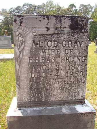 GRAY EASTERLING, ALICE - Calhoun County, Arkansas | ALICE GRAY EASTERLING - Arkansas Gravestone Photos