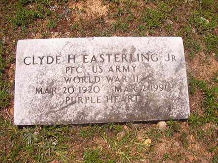 EASTERLING, JR (VETERAN WWII), CLYDE H - Calhoun County, Arkansas | CLYDE H EASTERLING, JR (VETERAN WWII) - Arkansas Gravestone Photos