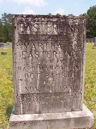 EASTERLING, MARTHA E - Calhoun County, Arkansas | MARTHA E EASTERLING - Arkansas Gravestone Photos