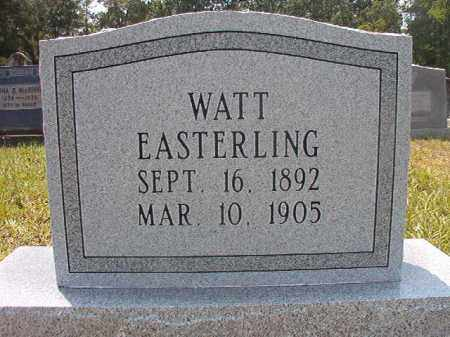 EASTERLING, WATT - Calhoun County, Arkansas | WATT EASTERLING - Arkansas Gravestone Photos