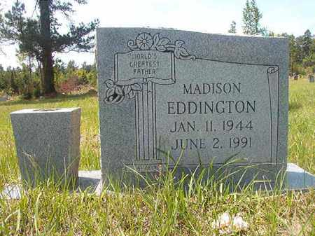 EDDINGTON, MADISON - Calhoun County, Arkansas | MADISON EDDINGTON - Arkansas Gravestone Photos