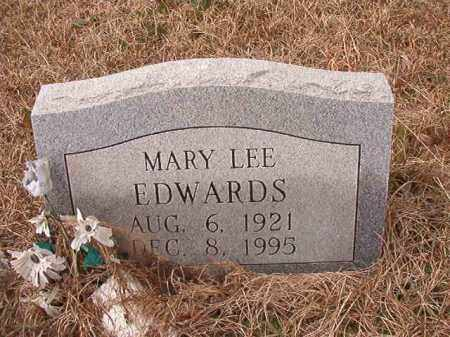 EDWARDS, MARY LEE - Calhoun County, Arkansas | MARY LEE EDWARDS - Arkansas Gravestone Photos