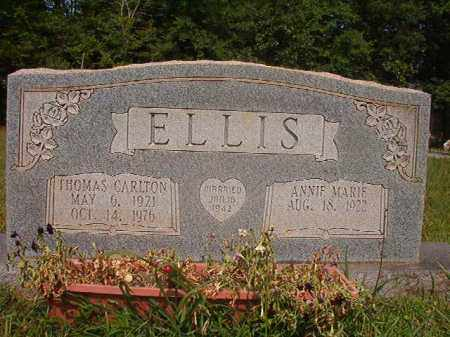 ELLIS, THOMAS CARLTON - Calhoun County, Arkansas | THOMAS CARLTON ELLIS - Arkansas Gravestone Photos