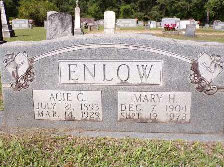 ENLOW, ACIE C - Calhoun County, Arkansas | ACIE C ENLOW - Arkansas Gravestone Photos