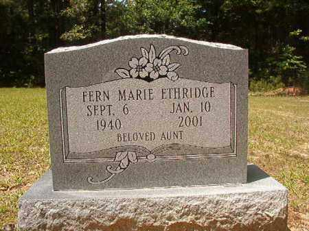 ETHRIDGE, FERN MARIE - Calhoun County, Arkansas | FERN MARIE ETHRIDGE - Arkansas Gravestone Photos