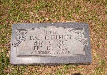 ETHRIDGE, JAMES H - Calhoun County, Arkansas | JAMES H ETHRIDGE - Arkansas Gravestone Photos