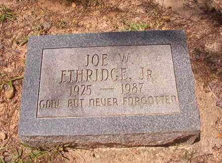 ETHRIDGE, JR, JOE W - Calhoun County, Arkansas | JOE W ETHRIDGE, JR - Arkansas Gravestone Photos