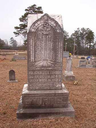 ETHRIDGE, MARGARET E - Calhoun County, Arkansas | MARGARET E ETHRIDGE - Arkansas Gravestone Photos