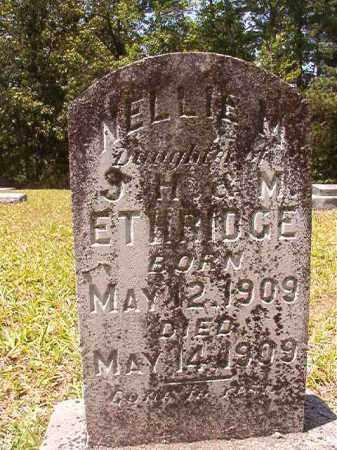 ETHRIDGE, NELLIE M - Calhoun County, Arkansas | NELLIE M ETHRIDGE - Arkansas Gravestone Photos