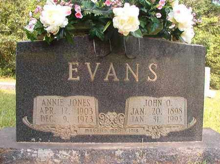 EVANS, ANNIE - Calhoun County, Arkansas | ANNIE EVANS - Arkansas Gravestone Photos