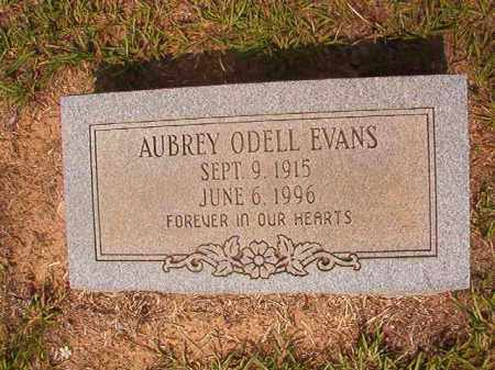 EVANS, AUBREY ODELL - Calhoun County, Arkansas | AUBREY ODELL EVANS - Arkansas Gravestone Photos