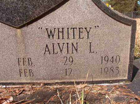 "EVANS, ALVIN L ""WHITEY"" (CLOSEUP) - Calhoun County, Arkansas 