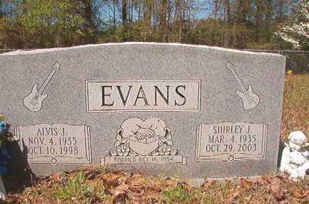 EVANS, SHIRLEY J - Calhoun County, Arkansas | SHIRLEY J EVANS - Arkansas Gravestone Photos