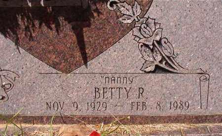 EVANS, BETTY R (CLOSEUP) - Calhoun County, Arkansas | BETTY R (CLOSEUP) EVANS - Arkansas Gravestone Photos