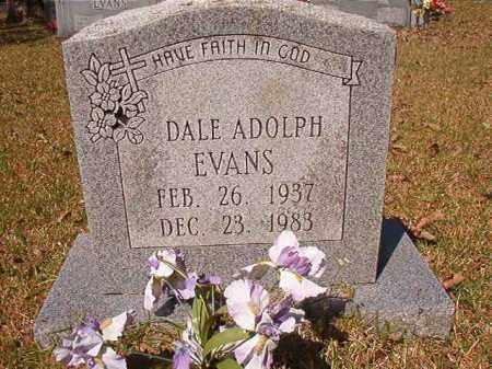 EVANS, DALE ADOLPH - Calhoun County, Arkansas | DALE ADOLPH EVANS - Arkansas Gravestone Photos