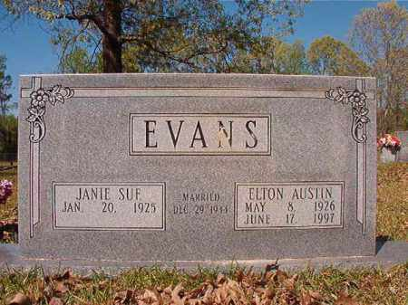 EVANS, ELTON AUSTIN - Calhoun County, Arkansas | ELTON AUSTIN EVANS - Arkansas Gravestone Photos