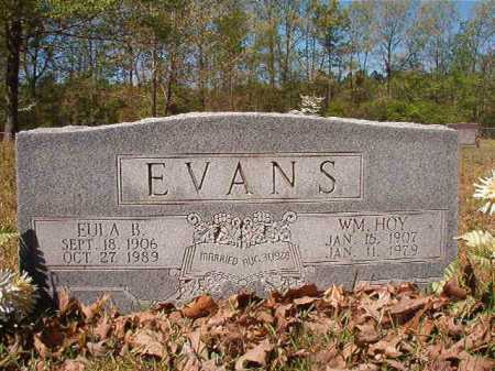 EVANS, WILLIAM HOY - Calhoun County, Arkansas | WILLIAM HOY EVANS - Arkansas Gravestone Photos