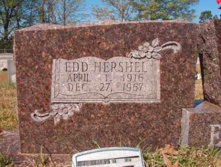 EVANS, EDD HERSHEL - Calhoun County, Arkansas | EDD HERSHEL EVANS - Arkansas Gravestone Photos