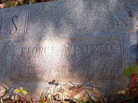EVANS, GEORGE WINFRED - Calhoun County, Arkansas | GEORGE WINFRED EVANS - Arkansas Gravestone Photos