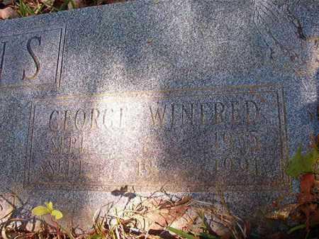 EVANS, GEORGE WINFRED - Calhoun County, Arkansas | GEORGE WINFRED EVANS - Arkansas Gravestone Photos