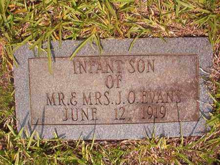 EVANS, INFANT SON - Calhoun County, Arkansas | INFANT SON EVANS - Arkansas Gravestone Photos