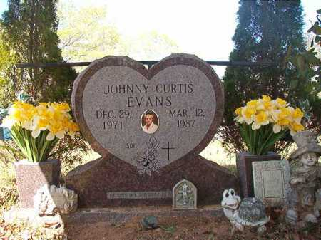 EVANS, JOHNNY CURTIS - Calhoun County, Arkansas | JOHNNY CURTIS EVANS - Arkansas Gravestone Photos