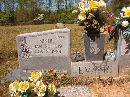 EVANS, MINNIE - Calhoun County, Arkansas | MINNIE EVANS - Arkansas Gravestone Photos