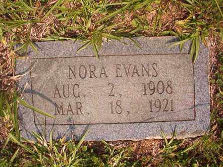 EVANS, NORA - Calhoun County, Arkansas | NORA EVANS - Arkansas Gravestone Photos