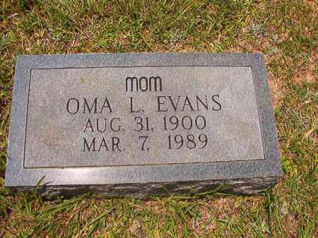 EVANS, OMA L - Calhoun County, Arkansas | OMA L EVANS - Arkansas Gravestone Photos