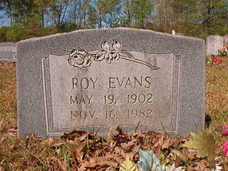 EVANS, ROY - Calhoun County, Arkansas | ROY EVANS - Arkansas Gravestone Photos