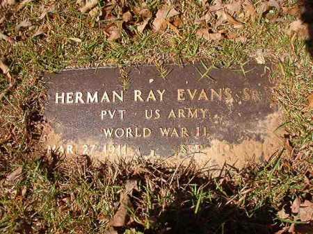 EVANS, SR (VETERAN WWII), HERMAN RAY - Calhoun County, Arkansas | HERMAN RAY EVANS, SR (VETERAN WWII) - Arkansas Gravestone Photos